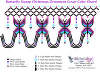 Beaded Christmas Ornament Bead Graph Patterns by Dragon