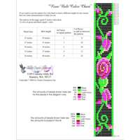 Rose Pattern Panel Bead Pattern Bead Pattern By ThreadABead