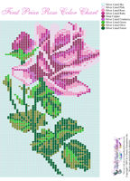 Peyote Rose Bead Pattern | Peyote Bead Patterns | Misc Bead Patterns