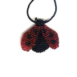 Beaded Lady Bug