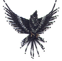 3D Raven Beading Pattern and kit information.