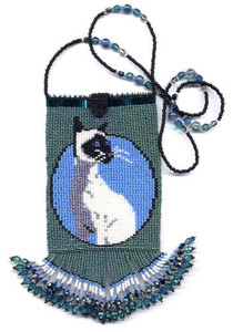 Beaded Siamese Small Hand Bag Pattern